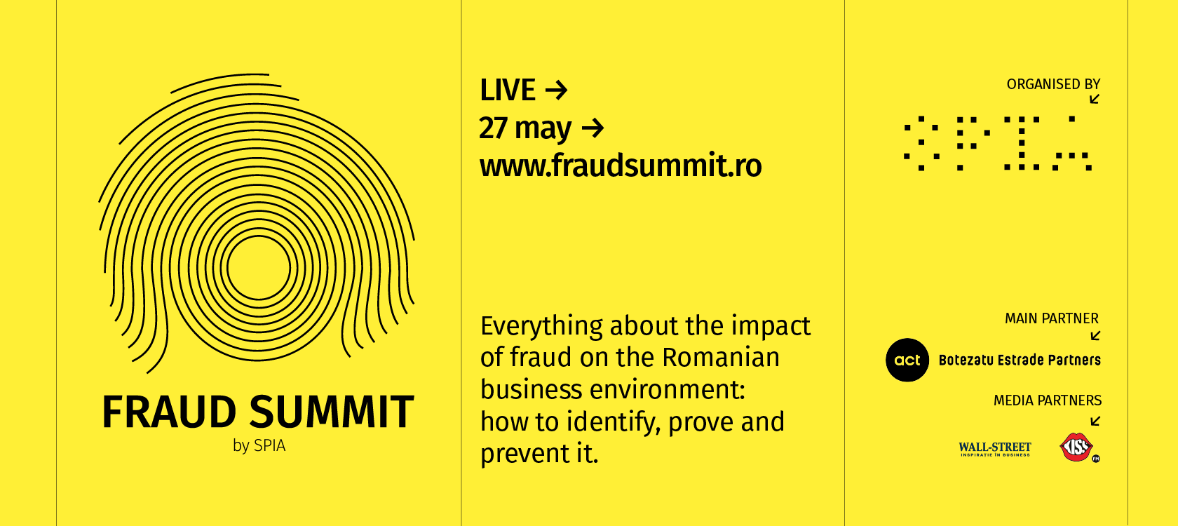 Banner image about FRAUD SUMMIT, an event taking place on 27 May 2021